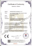 RoHS certificate for Encoder Switch IE-1511