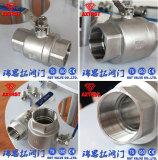 DIN M3 thread 2pc ball valve