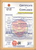 CE certificate for gas welding machine