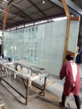 large size laminated glass