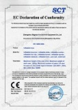 Inflatables CE certificate