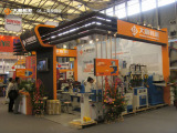 Dashun machinery in Shanghai exhibition
