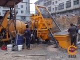 The consequences of improper use of concrete pump