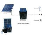 solar home system can be supplied