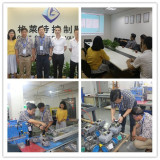 Singapore Customers Visit Grat Control Valve on July 13th, 2016