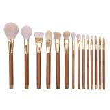 Hot sale new 15pcs cosmetic brush set