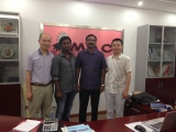 Indian customer visit SJR company