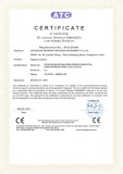 SINOWON CE Certificate of Digital Readout 2