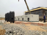 Stationary Screw Air Compressor Using in Iron Mine, Hebei Province
