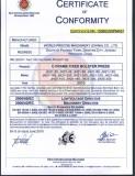 ce certificate for JH21 c frame single crank press