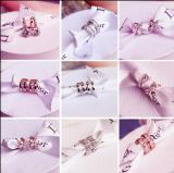 18K rose gold lovely earrings