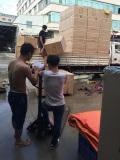 Loading goods of toys