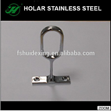 stainless steel wardrobe rod holder,Clothes rod holder