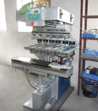 The First Customized Large-area 6-colour Pad Printer in Eastern Guangdong