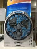 6 in 1 solar Rechargeable Fan