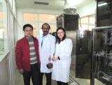 Our Nigeria Customer Visting Anhui Salt Company To Checking Our Salt Packing Machine