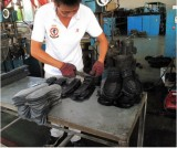 outsole processing