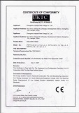 CE Certificate (Flat Plate Solar Water Heater And Solar Collector)