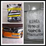 Woven bag packing motorcycle inner tube