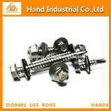 Hexagon Countersunk Head tapping screw Fasteners Gasket Tapping Screw