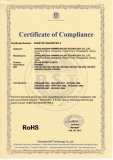 RoHS Certificate of Solar Steet Lights