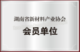 Member of Hunan Advanced Materials Industry Association