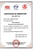 Certificate of Inspection