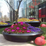 Stainless steel flower container