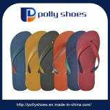 Cheap Men Bottom Logo Print Flip Flops V Strap Slippers