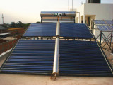 1000L compact solar project heating