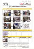 SGS certificate for production lines