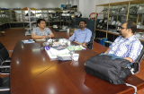 Clients visited our sample room