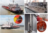 on Sep.21th HG Machinery Finished installation of hydraulic submersible cargo pump system