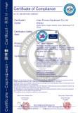CE certificate of CNC laser machine