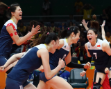 China′s volleyballers burst Brazil′s bubble