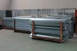 Galvanized container pillars