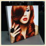 Silicon Edged Frameless Tension Fabric LED Light Box