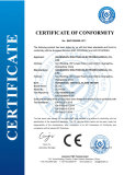 CE Certificate for Horizontal Vertical Flame Tester