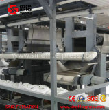 Fully automatic filter press machine with flexible functions