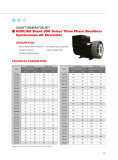 Catalogue of diesel generator set