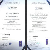LiTuo with ISO9001:2008 Certificates