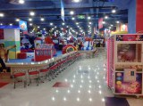 Commercial indoor playground for recreation center