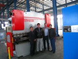 New zealand client test machine in our plant