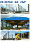 Prefabricated Steel Structure Shipyard Project in Indonesia