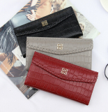 Imitation brand crocodile leather PU wallet