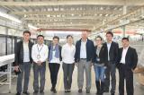 Uzbekistan Customer visits Hengli Factory