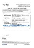 EN 1906 Grade 4 Certificate-D&D Hardware