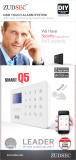 GSM Touch Alarm System