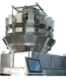 14 heads double door dimpled buckets multihead weigher