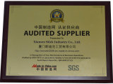 Audited Supplier Certificate 2012